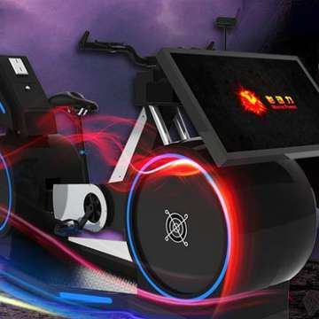 VR Bicycle Brings Virtual Cycling to Theme Parks