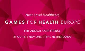 2016 Games for Health Europe Conference Announced